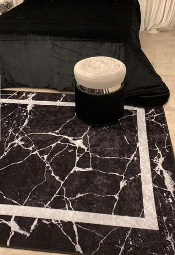 Marble Black with frame