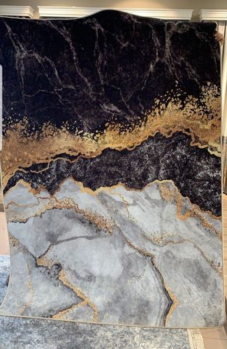 Marble Mixed Black Gold